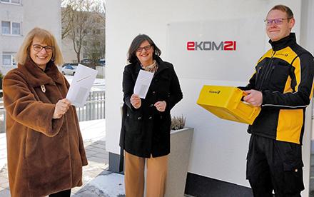 ekom21 und die Deutsche Post stemmen gemeinsam das Superwahljahr in Hessen.