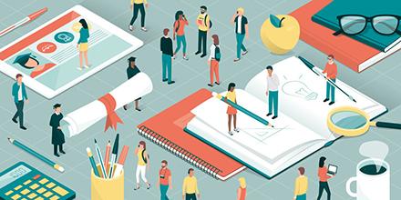 Auch bei der Digitalisierung der deutschen Hochschulen hat die Corona-Krise einen Schub ausgelöst.