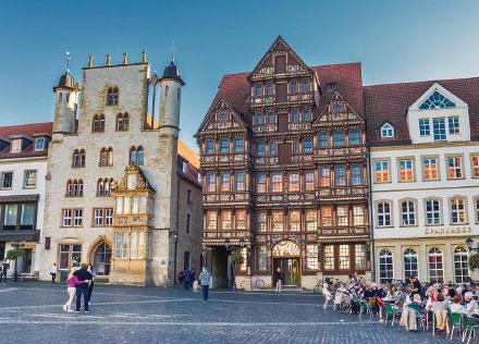 Hildesheim: Smarte Stadt mit historischem Kern.