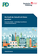"""Studie """"Die Stadt der Zukunft mit Daten gestalten"""" - Cover"""