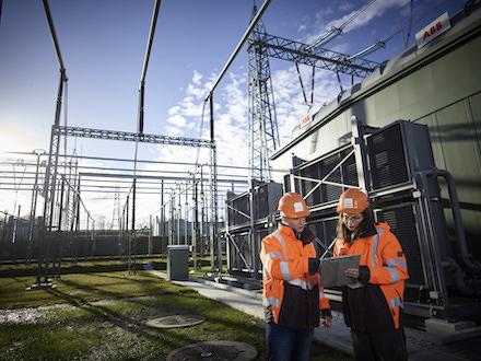 Umspannwerk: Der Übertragungsnetzbetreiber 50Hertz erhöht die Investitionen in die Netzinfrastruktur.