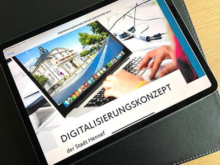 Die Stadt Hennef stellt ihr erstes Digitalisierungskonzept vor.