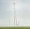Nach knapp fünfmonatiger Montagezeit steht der Windpark der Berliner Stadtwerke bei Albertshof.