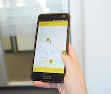 Mängel können der Stadt Leonberg jetzt per App mitgeteilt werden.