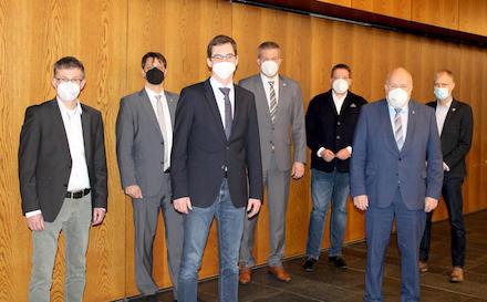 krz: Verbandsversammlung fand unter strengen Hygienauflagen statt.