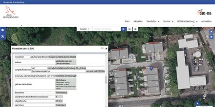 Das Geoportal Brandenburg wurde komplett überarbeitet und ist Anfang März 2021 in aktualisierter Fassung online gegangen.