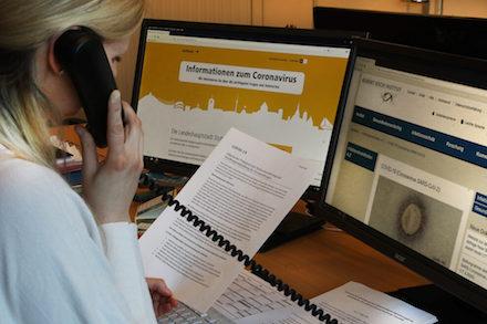 Für Fragen rund um das Coronavirus bietet die Stadt Stuttgart ein Bürgertelefon an.