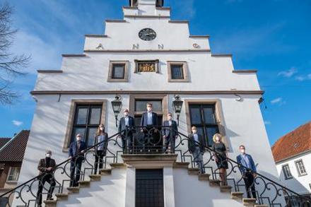 Die Städte Bad Bentheim, Lingen (Ems) und Stade schließen sich zusammen, um beim Förderwettbewerb Smart-City-Modellprojekt zu überzeugen.