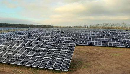 Wenig Sonne im ersten Quartal: Trotz ungünstiger Wetterbedingungen wurden 40 Prozent des Stromverbrauchs aus erneuerbaren Energien gedeckt.