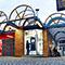 Die stationäre Brennstoffzelle in der Bamberger Innenstadt versorgt das Stadtquartier um den Busbahnhof mit grünem Strom.