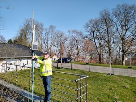 Bielefeld: LoRaWAN-Netz ist im Stadtgebiet jetzt flächendeckend verfügbar.
