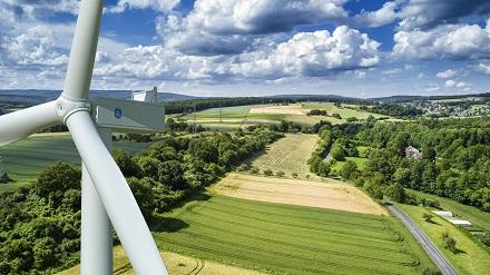 Fotorealistische Darstellung der GE-Anlage.