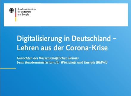 Gutachten: Die Corona-Pandemie hat die Defizite Deutschlands bei der Digitalisierung offengelegt.