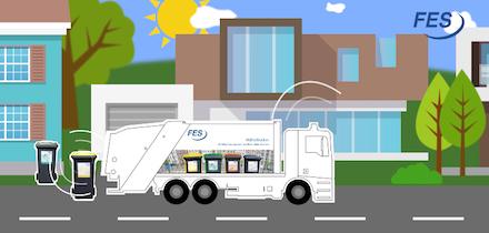 Ein Chip für jede Tonne: Frankfurt am Main startet in die digitalisierte Müllabfuhr.