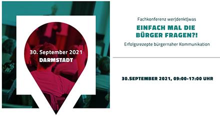 Die Fachkonferenz des Unternehmens wer denkt was nimmt Ende September das Thema bürgernahe Kommunikation in den Fokus.