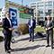Das Smart-City-Modellprojekt der Stadt Düsseldorf startet in Kooperation mit den Stadtwerken und dem Unternehmen Vodafone.