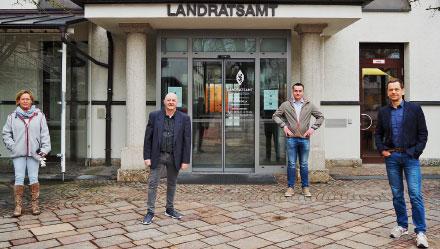 Betreute die digitale Umstellung: Die Projektgruppe DMS des Landratsamts Traunstein.