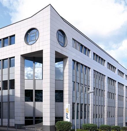 Der Stammsitz von prego services in Saarbrücken.