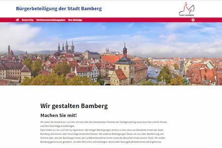 Bamberg: Neue Beteiligungsplattform www.bamberg-gestalten.de