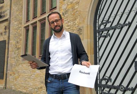 Matthias Göcken leitete das E-Rechnungs-Projekt.