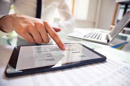 Vollständig elektronische Rechnungsbearbeitung ist das Ziel.