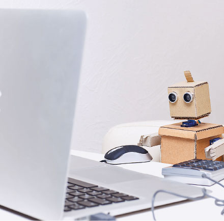 Software-Roboter kann Arbeit abnehmen.
