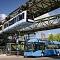 Innovationen im Wuppertaler ÖPNV: Vor 120 Jahren die Schwebebahn, seit 2020 Wasserstoffbusse.