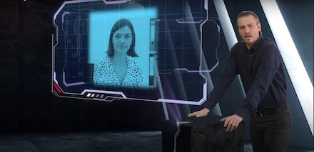 In jeder digitalen Schulung von WTT CampusONE sprechen Moderatoren und Schauspieler direkt mit den Lernenden.