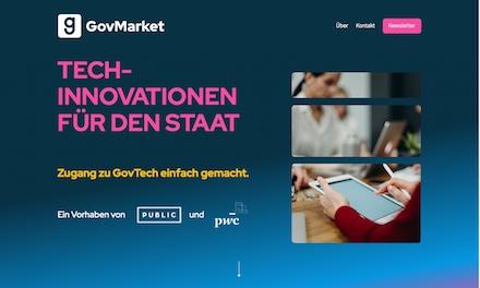 GovMarket soll den Public Sector mit Start-ups zusammenbringen.