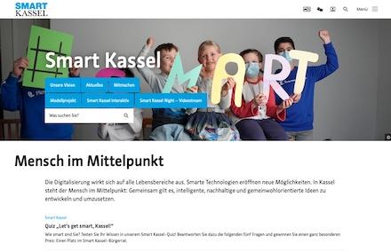 Smart Kassel: Intelligente Vernetzung und die Nutzung neuer Technologien sollen die Lebensqualität der Bürgerinnen und Bürger sowie die Zukunftsfähigkeit der Stadt steigern.