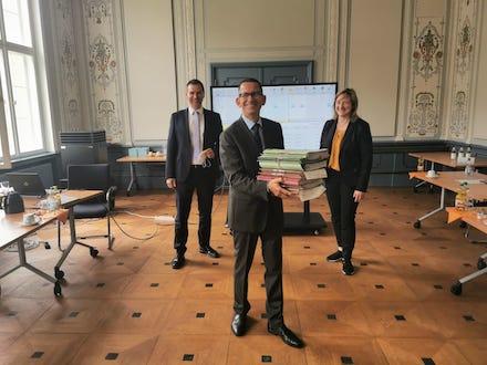 Das Sozialgericht in Kassel pilotiert die E-Akten-Lösung e²A.