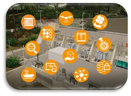 """Das Event """"Digitalization in Hydropower 2021"""" beleuchtet die Wasserkraft von vielen Seiten."""
