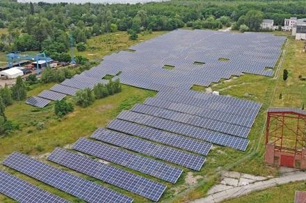 Der Solarpark Altes Kraftwerk Zschornewitz ist in Betrieb gegangen.