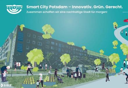 Potsdam zählt zu den vom BMI geförderten Smart-City-Modellprojekten.