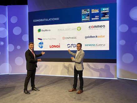 Während der smarter E Industry Days 2021 wurden mehrere Unternehmen mit den bedeutendsten Innovationspreisen der Energiebranche ausgezeichnet.