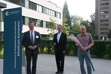 Die Stadtwerke haben die Standorte des Gesundheitsverbundes Landkreis Konstanz mit Bandbreitendiensten versehen.
