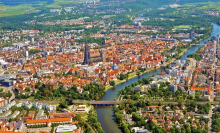 Ulm erprobt digitale Lösungen für die Stadt von morgen.