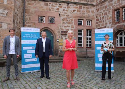Besuch der OZG-Modellkommune Marburg.