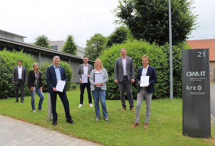 Stadt und krz arbeiten gemeinsam an der Verwaltungsmodernisierung in Oerlinghausen.