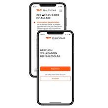 Für ihre Privatkunden hat Pfalzsolar jetzt eine App entwickelt.