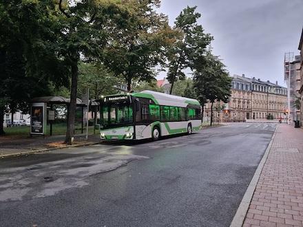 Die Stadtwerke Bamberg haben jetzt den Niederflurbus Urbino 12 vom Hersteller Solaris vorgestellt.