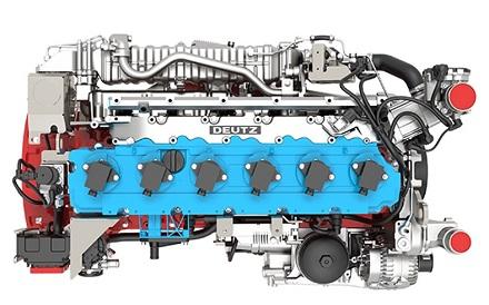 Soll Elektrizität im Heizkraftwerk in Köln-Niehl erzeugen: Wasserstoffmotor von Deutz.