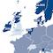 Vorhergesehene Ausstiegsdaten vom fossilen Verbrennungsmotor verschiedener Staaten im europäischen Raum.