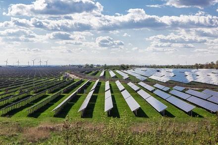 Dank Solarenergie und Energieeinsparungen Energiekommune im August 2021: Köthen in Sachsen-Anhalt.