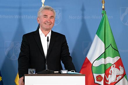 Presse-Briefing mit Digitalminister Andreas Pinkwart zur Umsetzung der Digitalisierung in Nordrhein-Westfalen