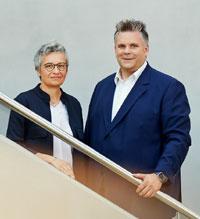 Leslie Czienienga und Arne Baltissen