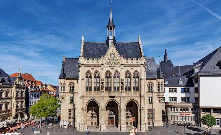 Rathaus Erfurt: Auf dem Weg zur digitalen Verwaltung.