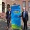 Münsters Oberbürgermeister Markus Lewe (links) und Nachhaltigkeitsdezernent Matthias Peck wollen die Anstrengungen für den Klimaschutz intensivieren.