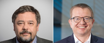 Michael Untiet (KISTERS, links) und Ronald Pfitzer (Stadtwerke Schwäbisch Hall) können schon auf einige gemeinsame Projekte zurückblicken.