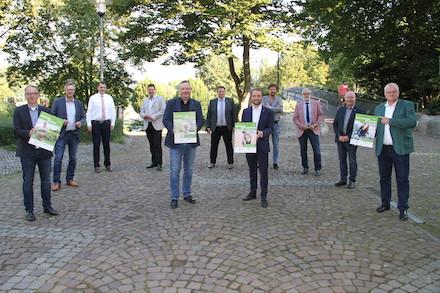 """Der Kreis Recklinghausen hat jetzt mitsamt seiner zehn kreisangehörigen Städte die Kampagne """"Gemeinsam für ein gutes Klima in Vest"""" gestartet."""